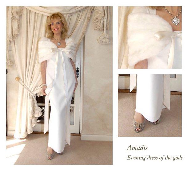 bespoke white dress