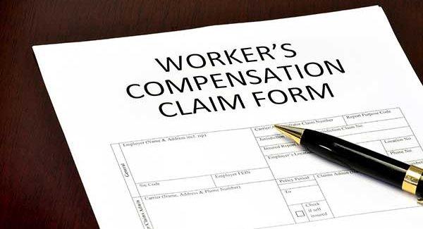 Worker compensation form in Torrington