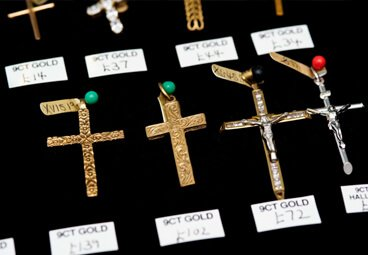 gold crosses for chains