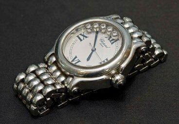 silver gents watch