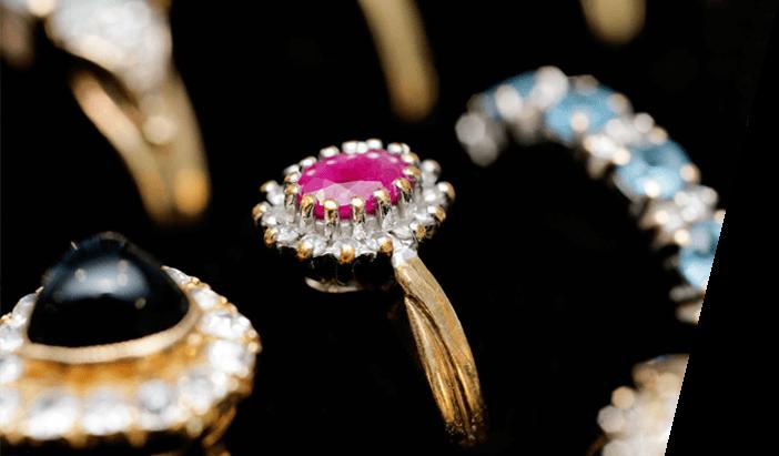 jewel stone rings
