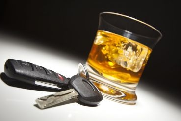Car keys and an alcohol - The DUI attorney in Soldotna, AK