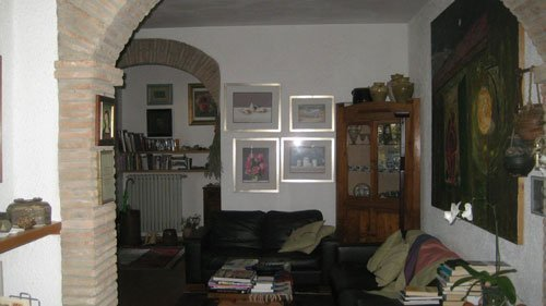 interno del bed and breakfast a Cesena