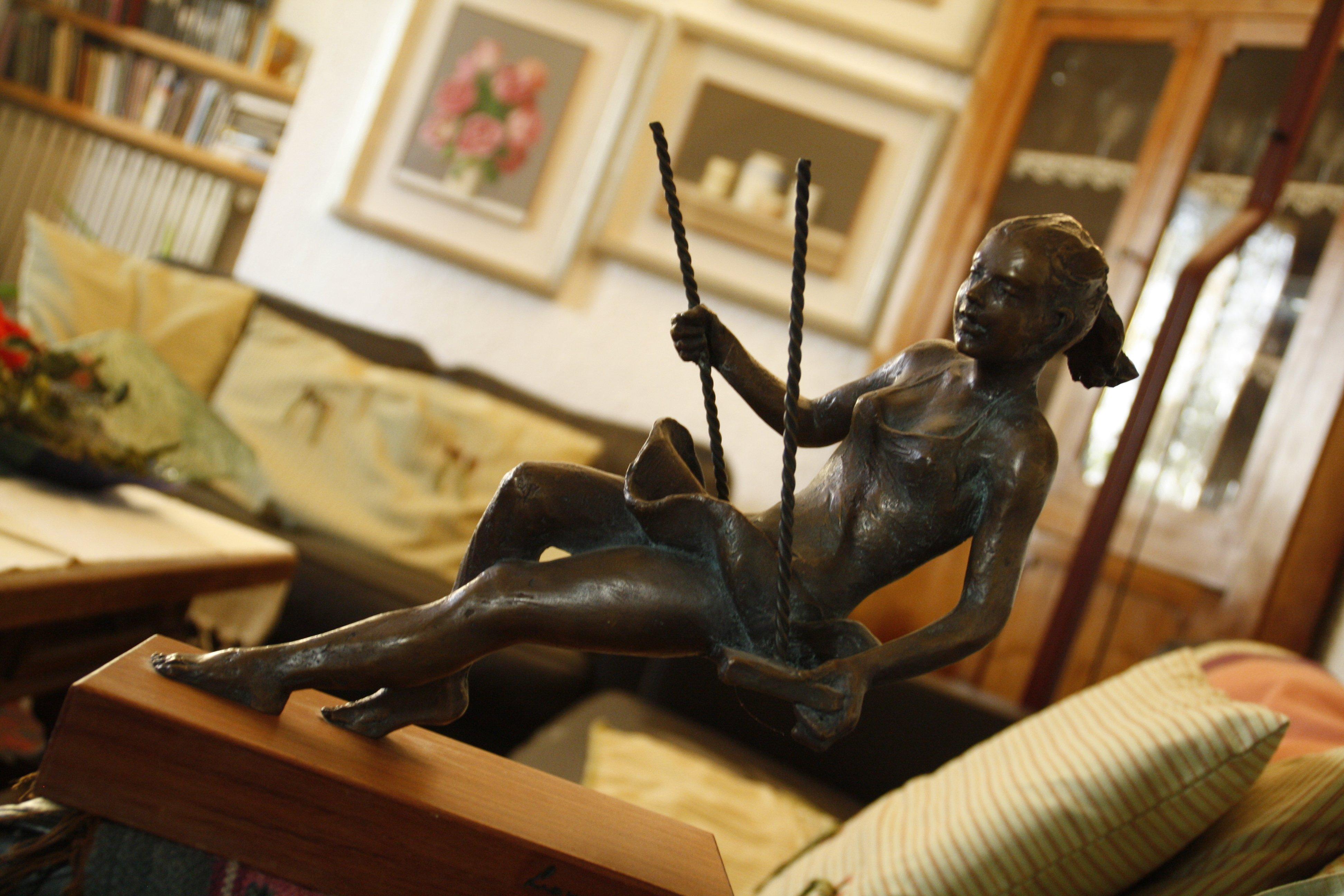 statuetta nel salotto