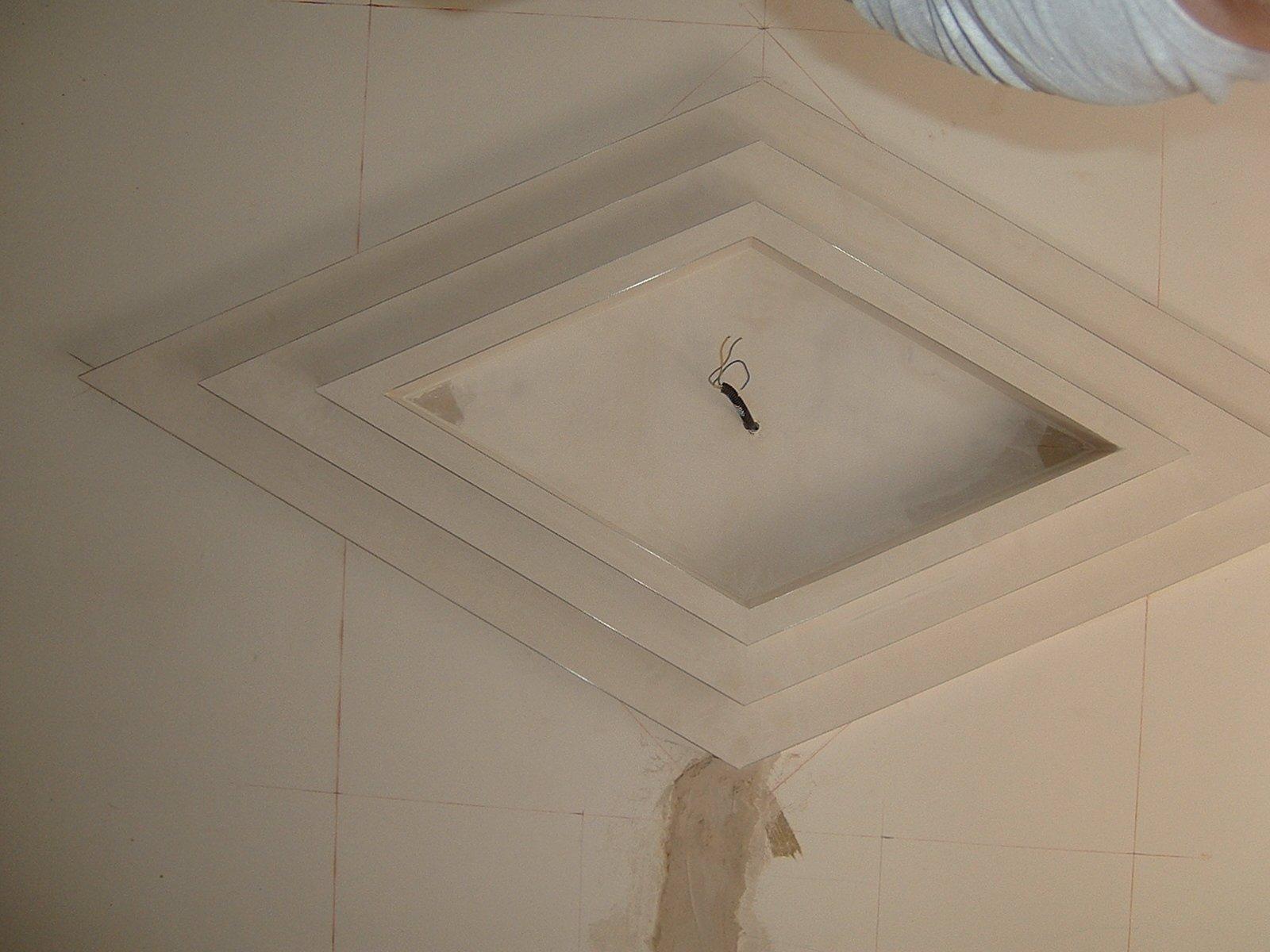 decorazione  soffitto angolo