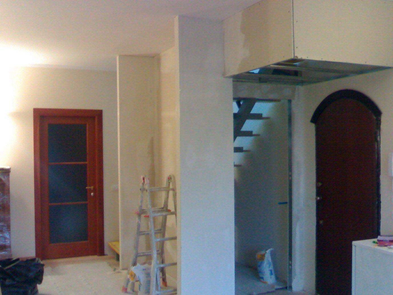 scale   e muro  In corso