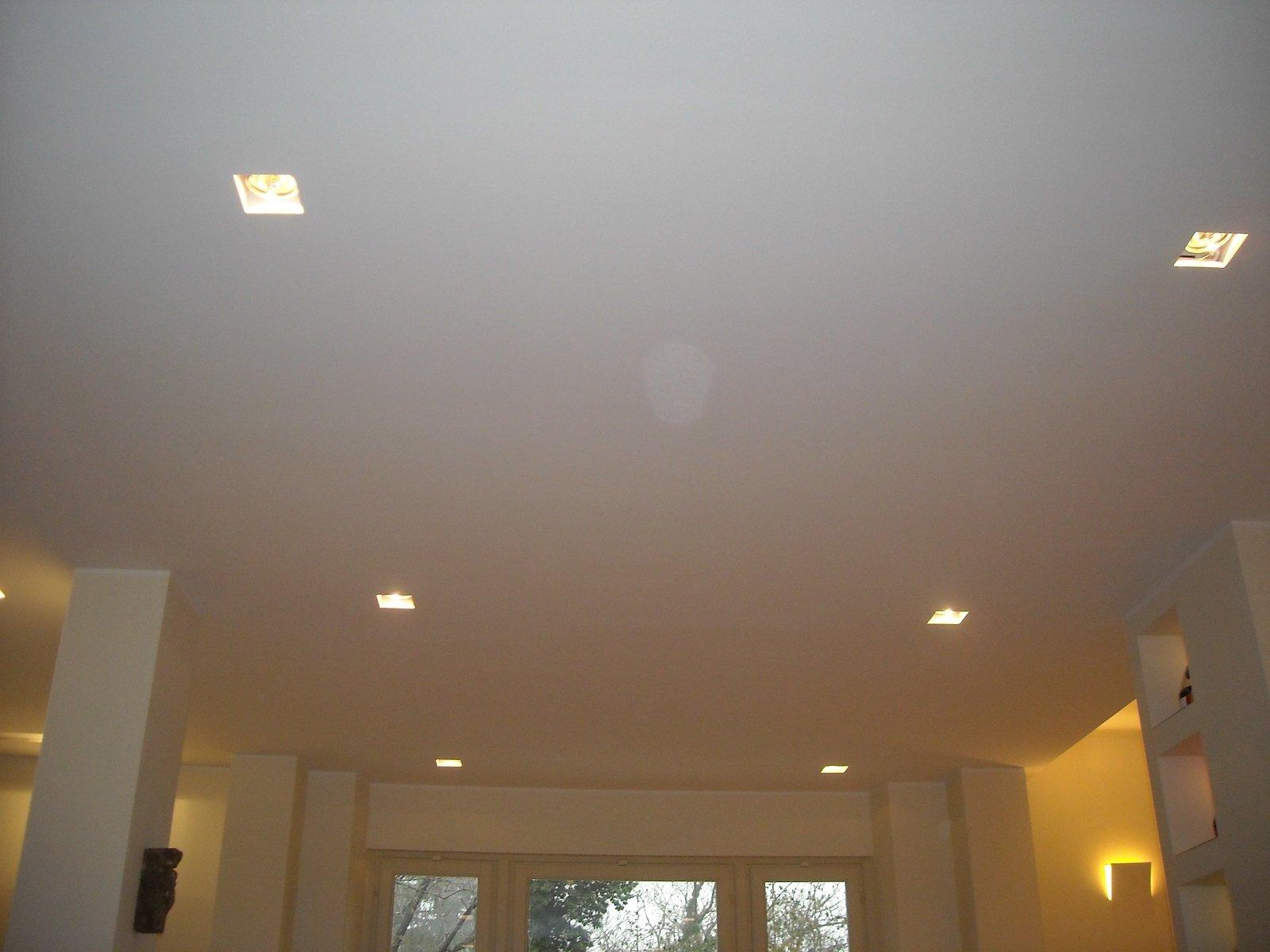 soffitto con luce