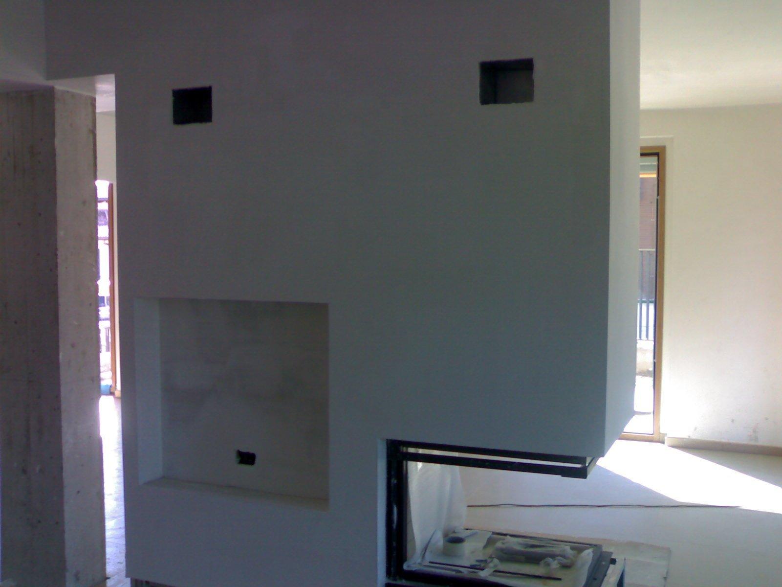 parete imbiancata