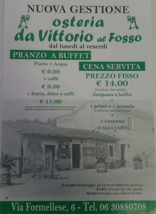 Menù Cucina tipica romana a Roma