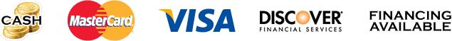 Payment options cash mastercard visa discover financing air mechanics service center llc