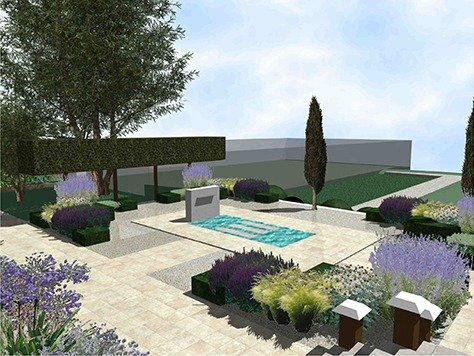 Garden design package in Chelsea