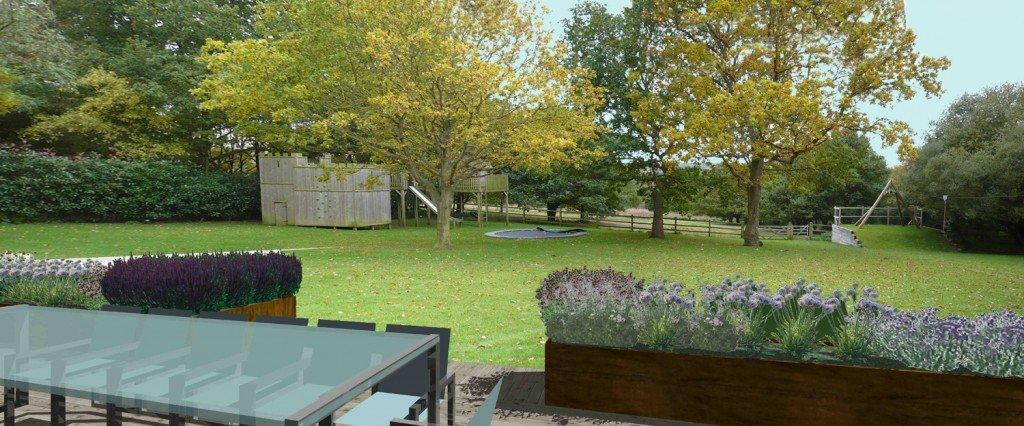 Garden planning service in Fulham