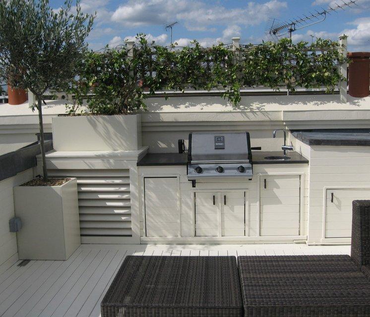 South Kensington roof terrace design