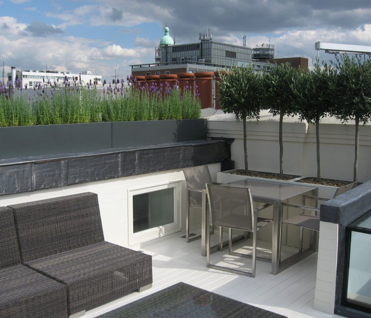 Planning for roof terrace in South Kensington