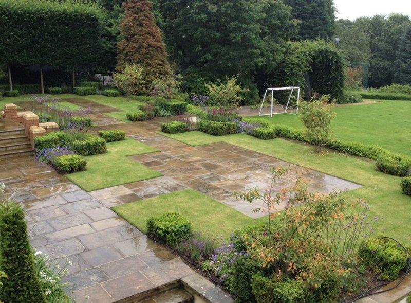 Beautiful garden design in North London