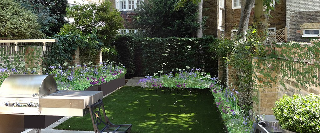 Stunning garden design service in South Kensington