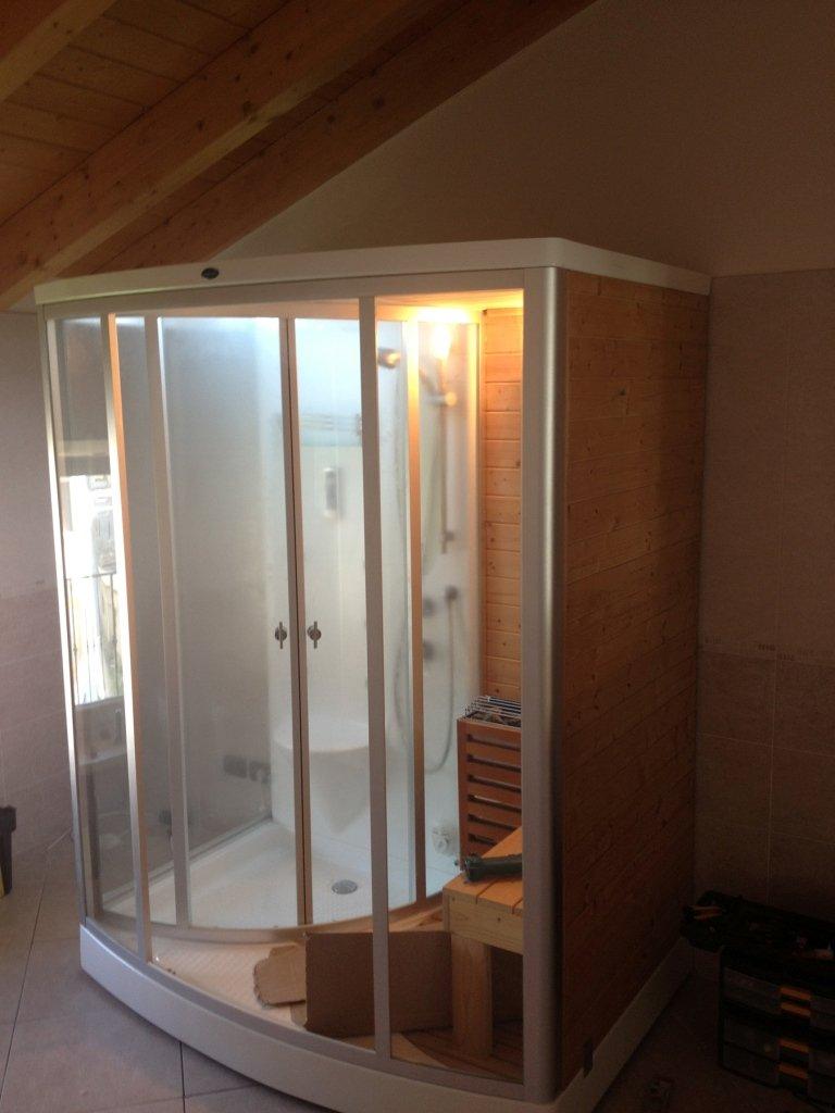 box sauna