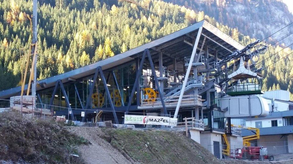 Realizzazione stazione a valle Alba – Col dei Rossi