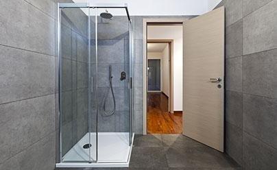 Box doccia di vetro