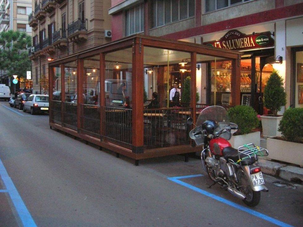ristoranti all'aperto