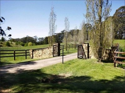 Big open spaces in the property for horses