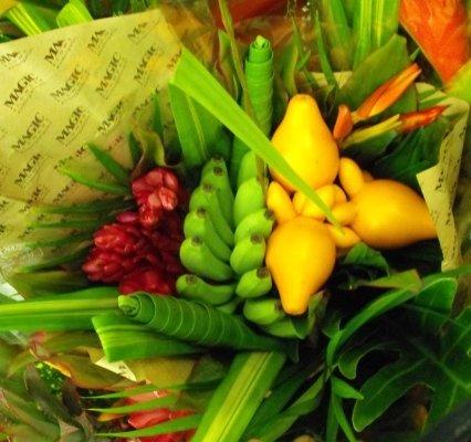 composizioni fiori tropicali