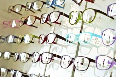 Scaffali occhiali da vista