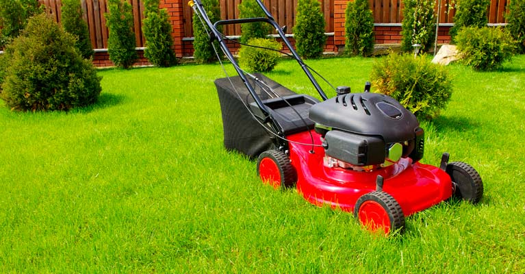 red-mower