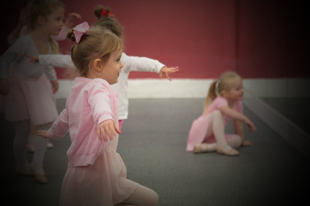 Ballet class Bodens Performing Arts