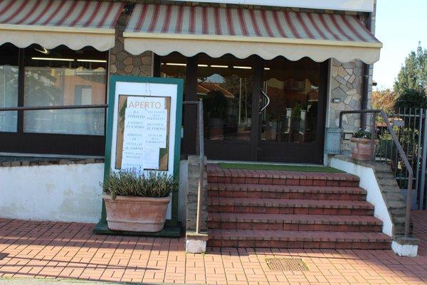 entrata del ristorante a Gerenzano