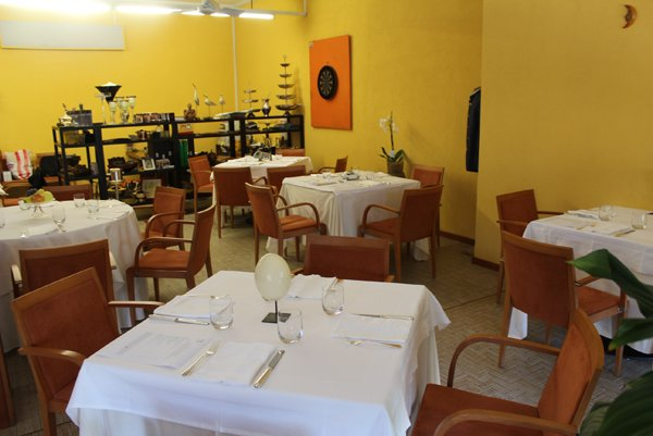 sala ristorante Margot in provincia di Varese