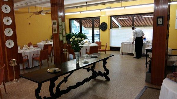 sala di attesa ristorante Margot