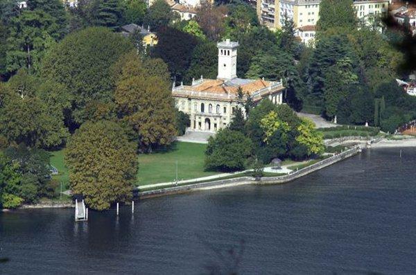 vista dall`alto del ristorante Margot in provincia di Varese