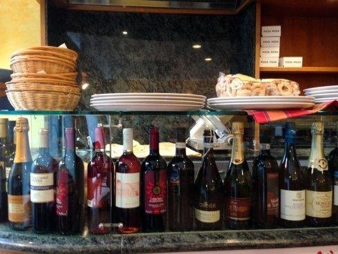 cantina vini rossi e bianchi