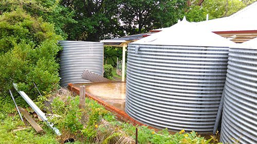 installing tanks
