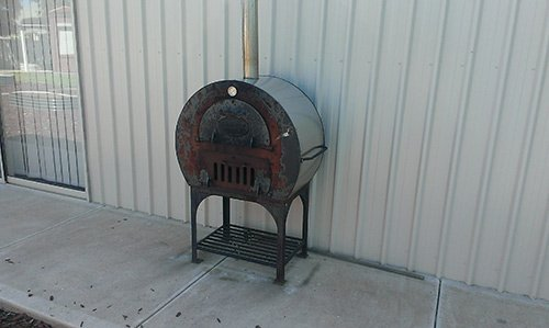 custom metal tank as heater or cooker