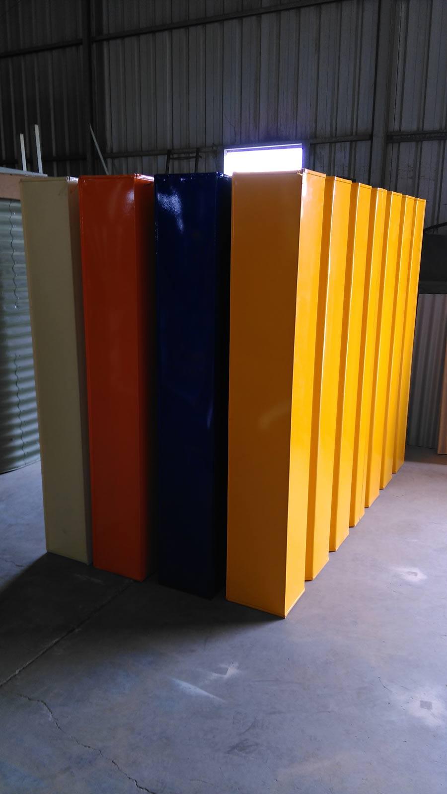 colorful modular slim tank