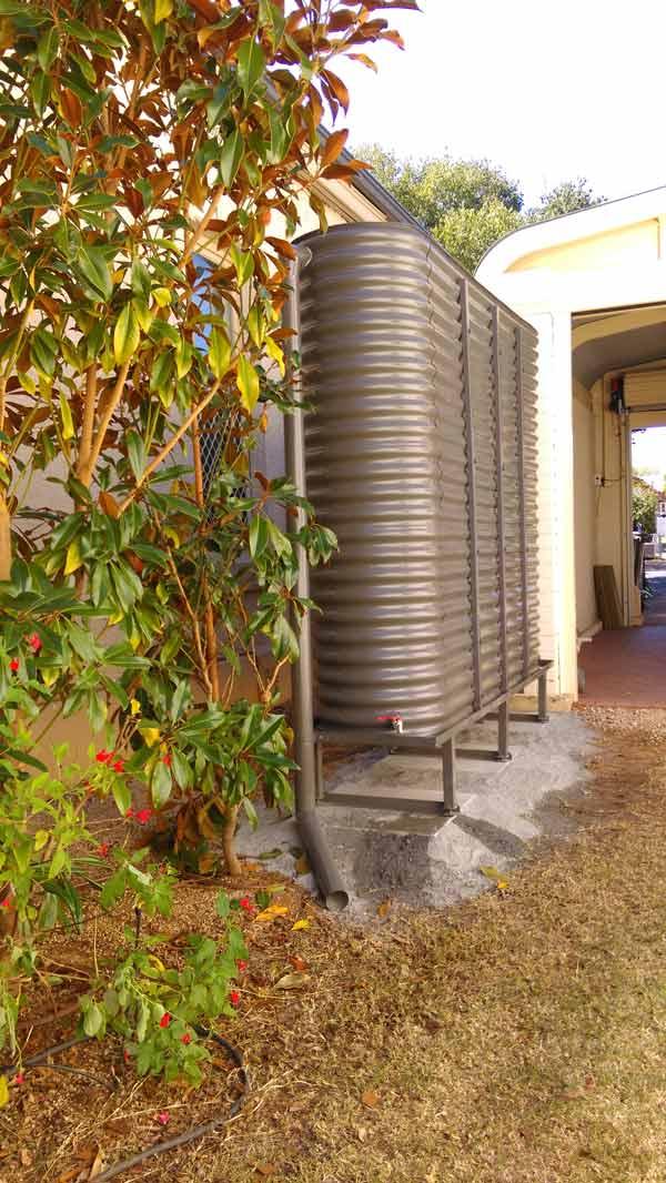 corrugated ultra slim tank