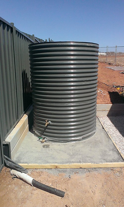 galvanised steel container with spout