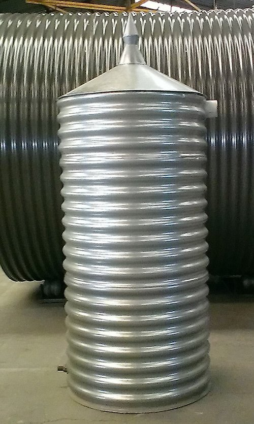 steel cylinder water tank