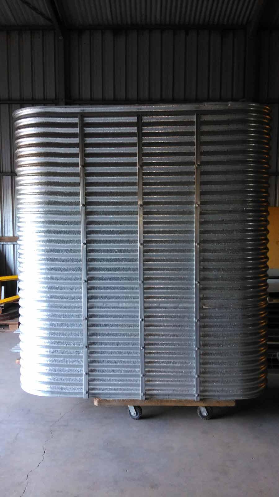 tall corrugated ultra slim tank