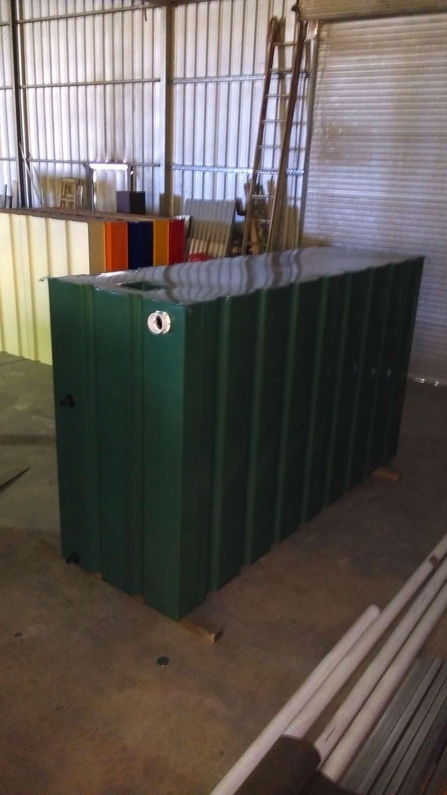 green modular slim tank