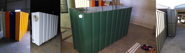 slimline rainwater tanks in adelaide