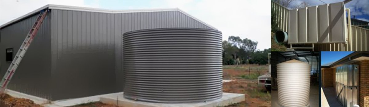 rainwater tank and pressure pumps installation in Adelaide