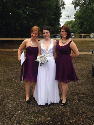 Art deco wedding dress, bias cut, silver screen siren