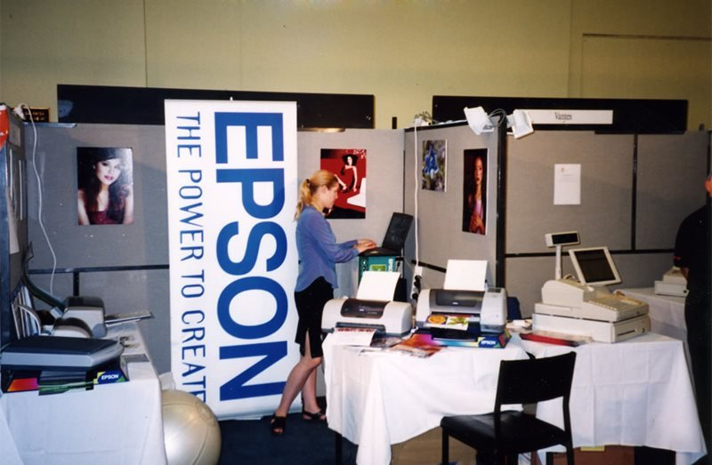 epson booth