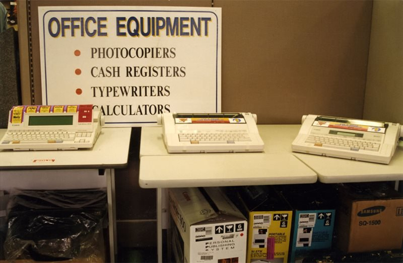office equipment list