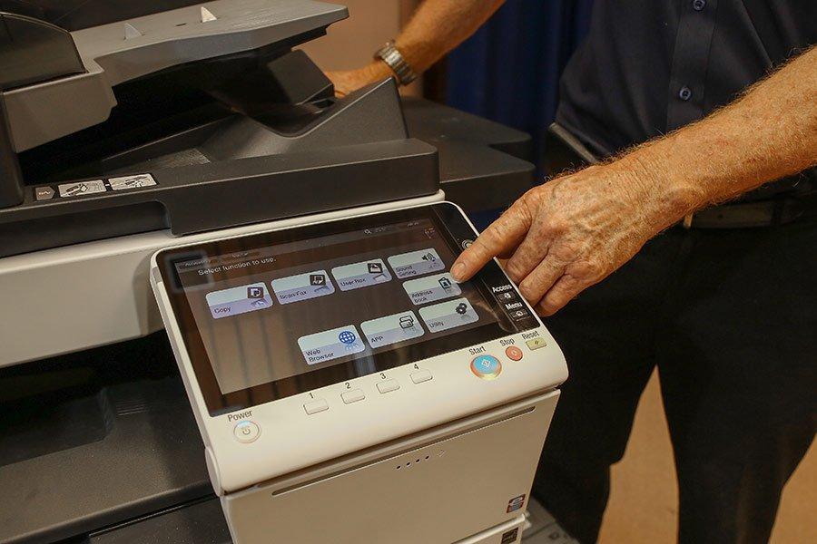 hi tech photocopier