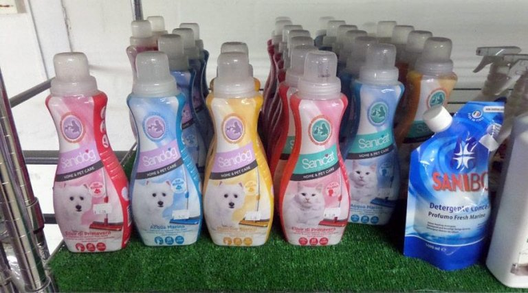 shampoo per animali