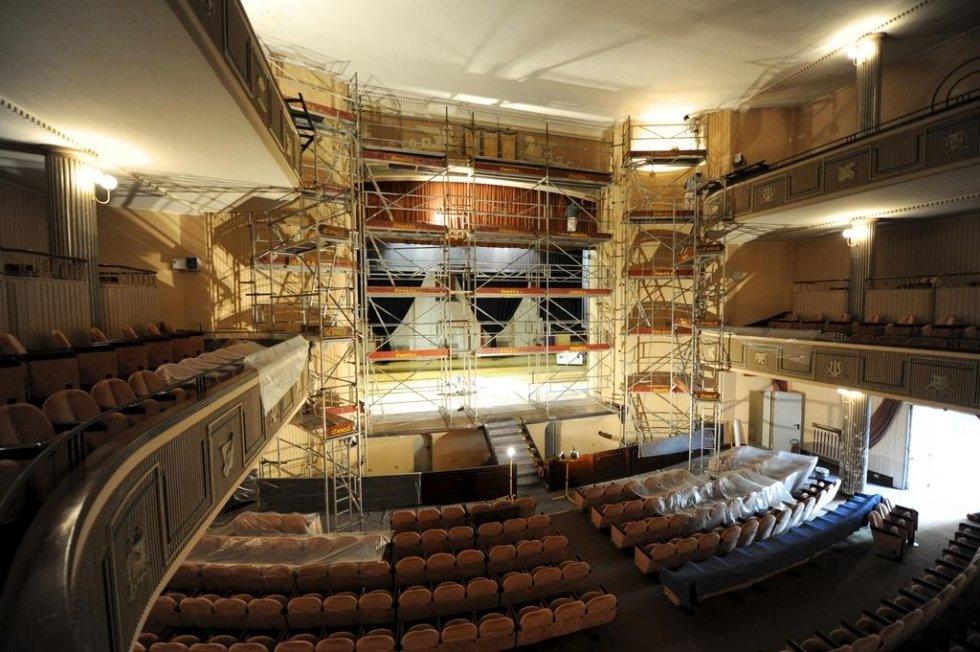 restauro conservativo del Teatro Comunale di Belluno